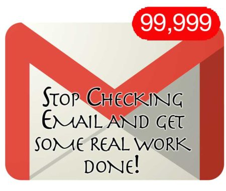Stop Checking Email and Get Some Real Work Done