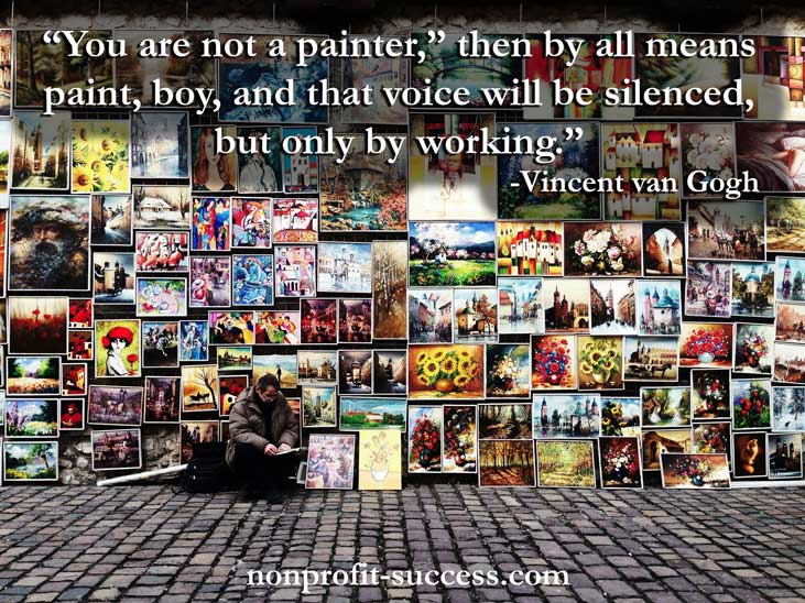 You are not a painter